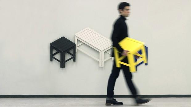 Designer Jongha Choi et projet De-Dimension