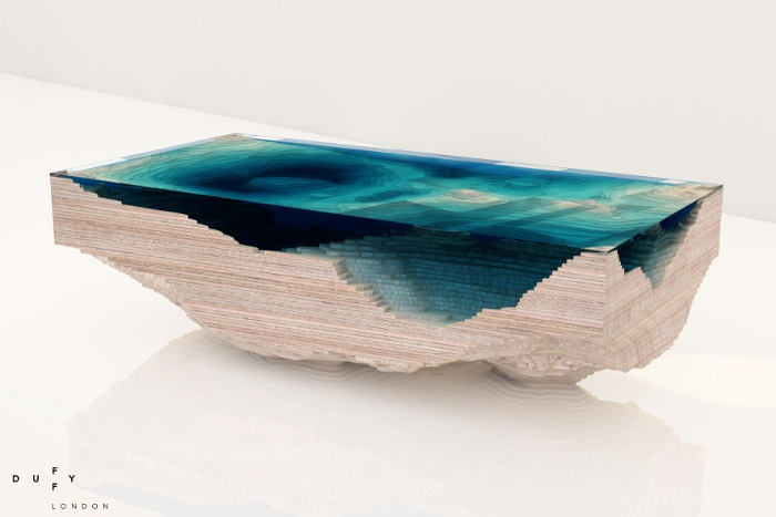 Table design ABYSS de Duffy