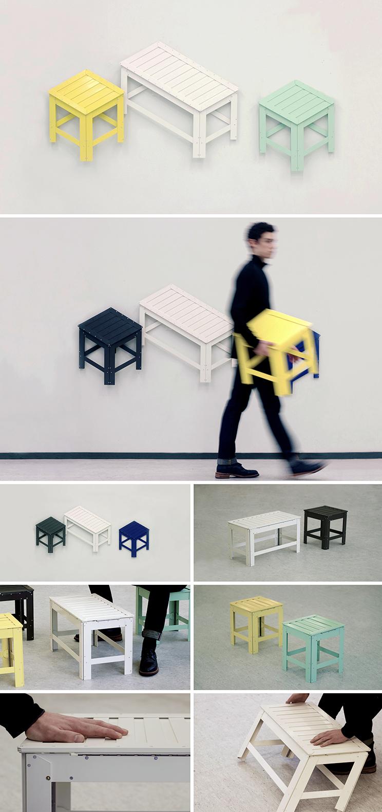Projet De-Dimension du designer Jongha Choi